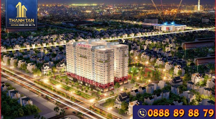 Dự án Căn Hộ chung cư Thạnh Tân Apartment Dĩ An Bình Dương | Bảng Giá Chủ Đầu Tư | Liền Kề Vincom | Tặng Full Nội Thất