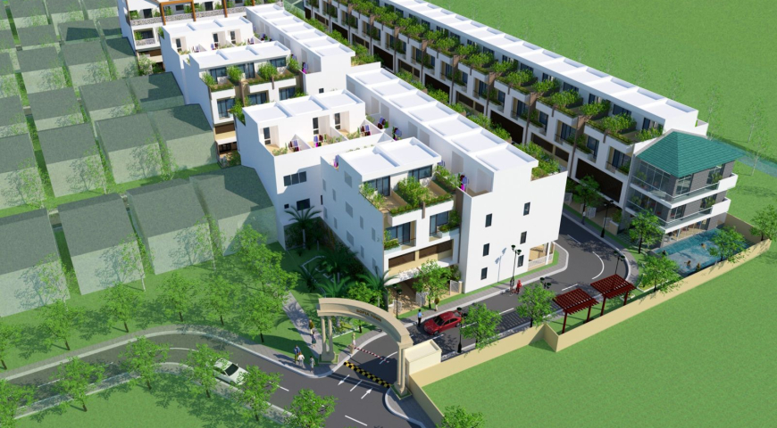 'Cập Nhật tiến độ dự án Nhà Phố ,Biệt thự Sofia Town Tân An
