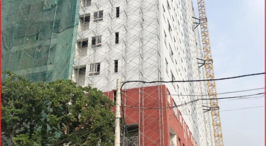 'Tiến độ xây dựng dự án Căn hộ Chung Cư Thạnh Tân Apartment Dĩ An