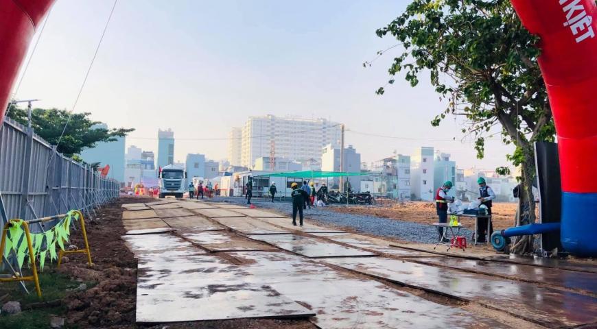 'Review Cập Nhật Tiến Độ Xây Dựng Mới Nhất Dự Án Stella En Tropic Võ Văn Kiệt Quận Bình Tân