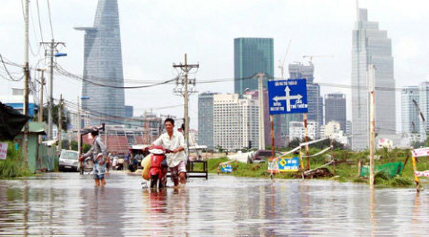 'Ngập nước có thể thay đổi tâm lý mua nhà của người Sài Gòn