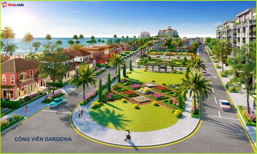Công viên nội khu nhà phố one palace quận 12
