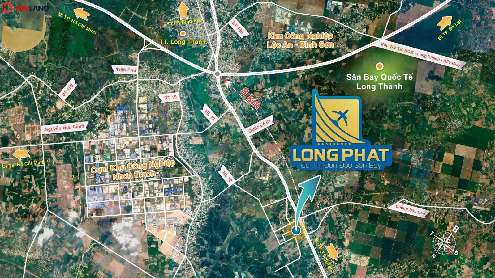 liên kết khu vực dự án long phát residence