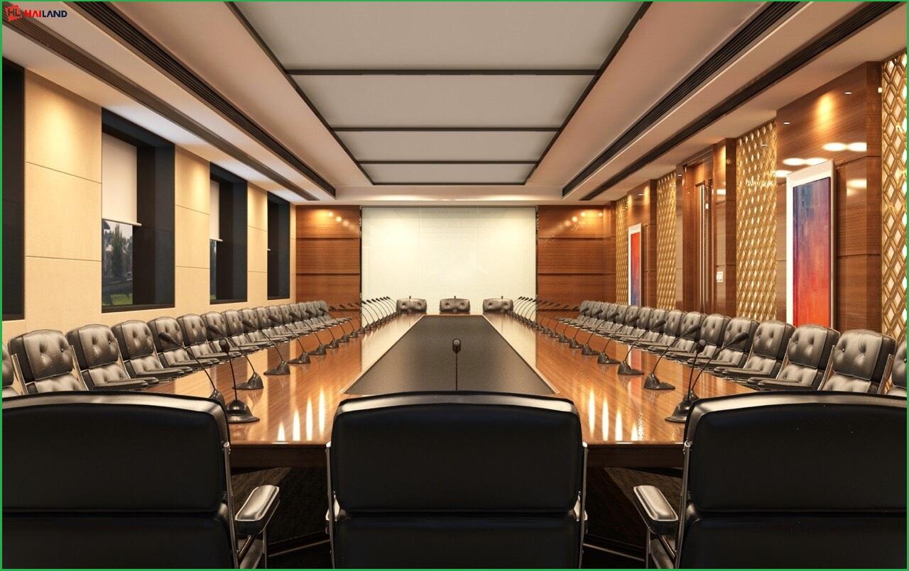 phòng họp lớn tại nhà ở dịch vụ lũy bán bích