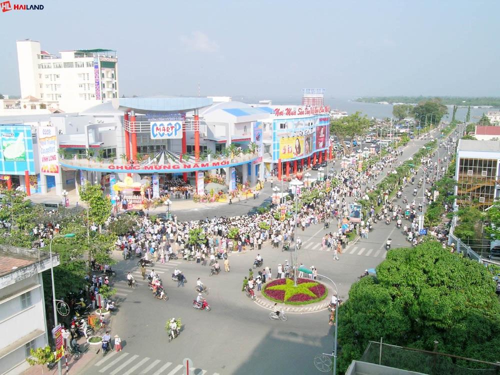 một góc thành phố vĩnh long - hailand.vn