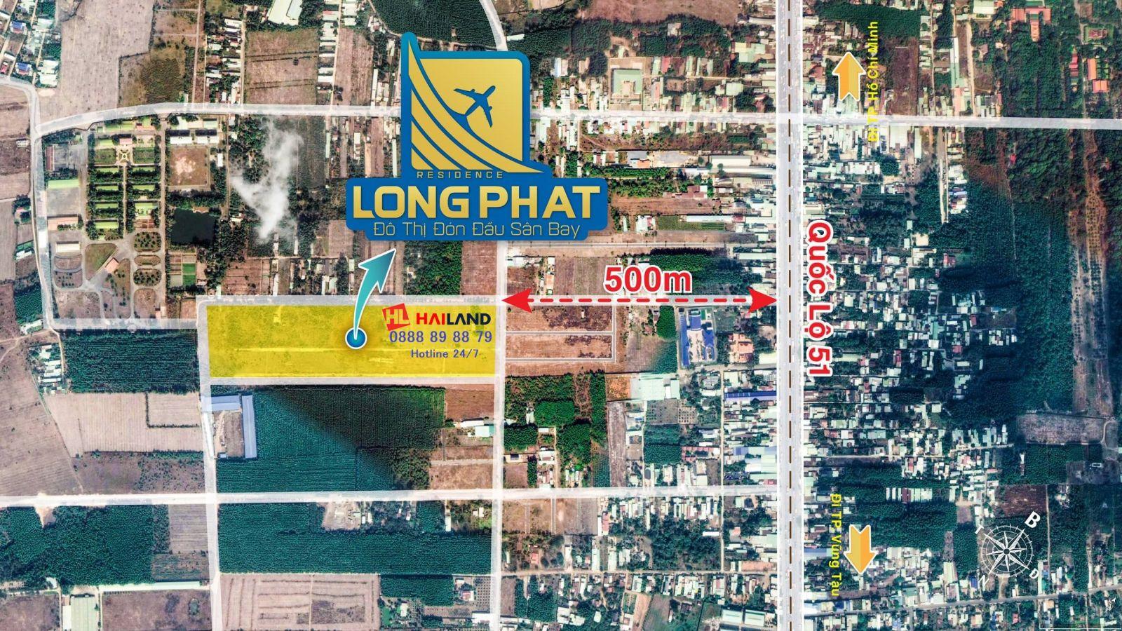 tổng quan dự án long phát residence