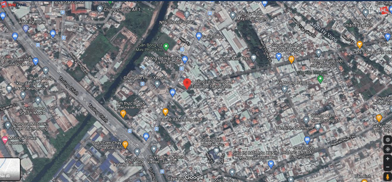 vị trí dự án căn hộ mini S Home Tân Bình